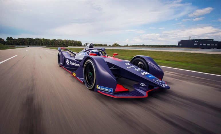 Formula E - ENVISION VIRGIN RACING TEAM : Ecco la seducente E-Tron FE0 pronta per la battaglia