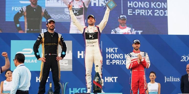 EPrix di Hong Kong Gara 1